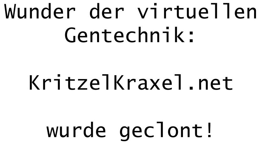 KritzelKraxel.net_wurde_geklont